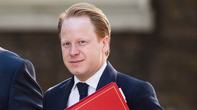 Cabinet office minister Ben Gummer announced the language fluency code of practice this week. REX/Shutterstock