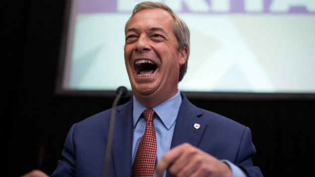 UKIP leader Nigel Farage resigns after playing a key part in achieving Brexit. Will the UK's exit from Europe lead to cuts to health and wellbeing at work? Joel Goodman/LNP/Shutterstock