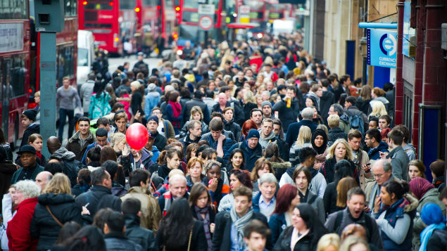 Commuters in London endure a long commute to work with an average journey of 79 minutes, a report finds