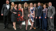 Welsh Water receives last year's trophy for Graduate Scheme of the Year