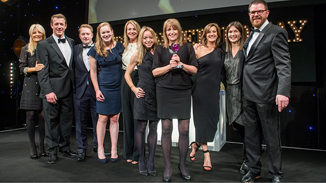 Coaching Impact collect the 2016 HR Supplier Partnership Award