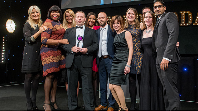 IHG wins 2016 Personnel Today Award for Employer Branding