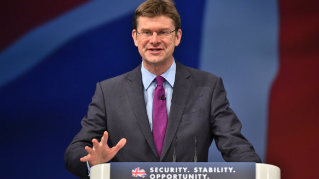 Greg Clark is the business, energy and industrial strategy (BEIS) minister. Ray Tang/REX/Shutterstock.