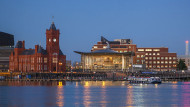 Cardiff was ranked 11th for talent competitiveness, ahead of London and BirminghamBilly Stock / Robert Harding / REX / Shutterstock