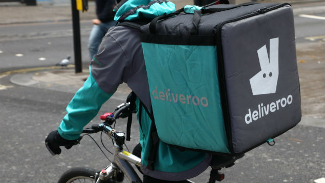 The gig economy, demonstrated by  the working practices of companies like Deliveroo, shows that employment law is miles behind modern working.practices.Photo by Richard Gardner/REX/Shutterstock