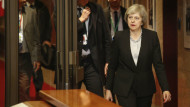 """Will Theresa May, seen here leaving the EU summit meeting in December 2016, support """"EU associate citizenship"""" for UK nationals after Brexit? PHOTO: Pool Christopher Licoppe Belgia via ZUMA/press/REX/Shutterstock"""