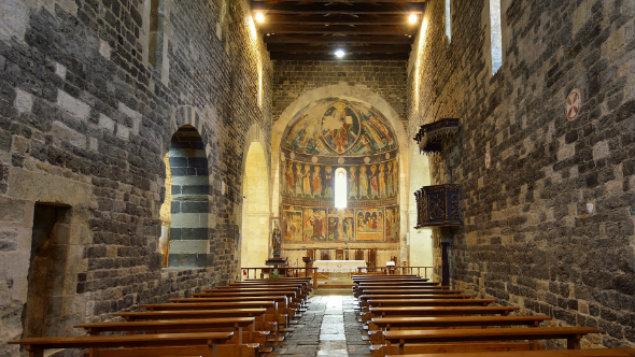 A church in Sardinia, which is Mr Gareddu's homelandPeter Giovannini/imageBROKER/REX/Shutterstock.
