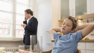 Fathers are more likely to face obstacles  in achieving a work-life balanceMito Images/REX/Shutterstock