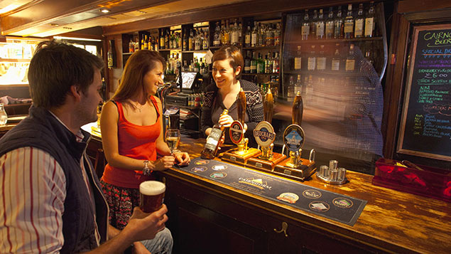 Restaurant and pub waiters in insecure work has risen 128% in five years, according to the TUCPT-VS/ScottishViewpoint/REX/Shutterstock