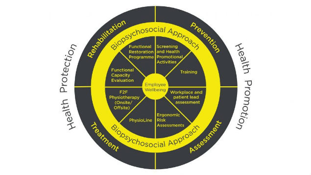 Connect Health occupational health physiotherapy model