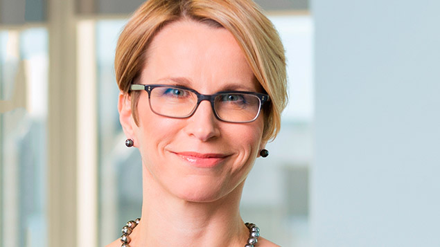 Emma Walmsley  succeeds Andrew Witty as GSK chief executive when he retires on 31 MarchPhoto: GSK