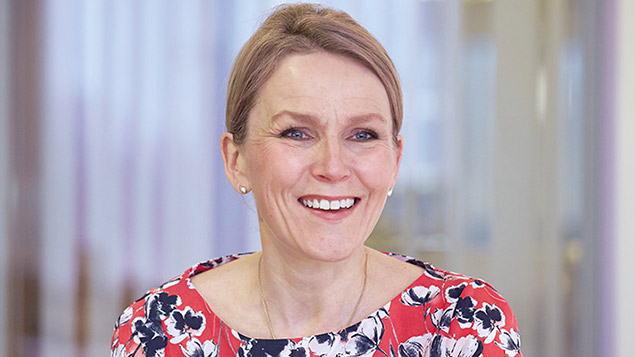 Alison Horner, chief people officer at Tesco, has been on the supermarket's executive committee since 2011. Photo: Tesco