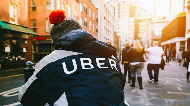 Uber is appealing a 2016 decision that its drivers are workers, not self-employed gig workers. More hereGraphical_Bank / Shutterstock