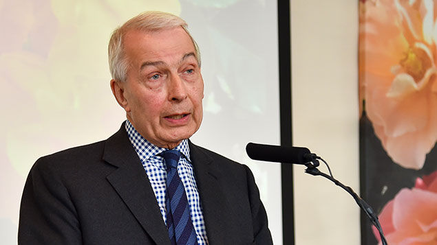 """It is clearly profit and profit only that is the motive for designating workers as self-employed"" – Frank Field, chair of the Work and Pensions CommitteeNick Harvey/REX/Shutterstock"