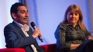 Shokat Lal and Angela O'Connor answer questions at the 2017 PPMA annual seminarPaul Scott Photography