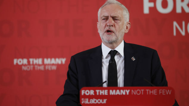 Labour leader Jeremy Corbyn announces the party's election manifesto. Could his huge programme of employment law reform be achieved while simultaneously negotiating Brexit?  Photo: Peter MacDiarmid/REX/Shutterstock