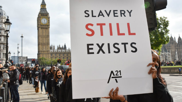 Slavery and human trafficking statements are due on 30 June for large companies with a Jan-Dec financial yearPhoto: Matthew Chattle/REX/Shutterstock.