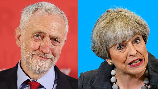 Follow the leader: Jeremy Corbyn and Theresa May's leadership styles couldn't be more differentAndrew McCaren/LNP/Chris J Ratcliffe/Pool/EPA/REX/Shutterstock