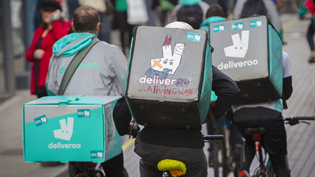 Deliveroo union given day in court over employment rights