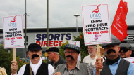 Sports Direct workers complain about zero hours contractsMatthew Taylor/REX/Shutterstock