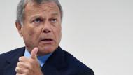 WPP chief executive Sir Martin Sorrell earned £48.1 million last year.Andy Rain / Epa/REX/Shutterstock
