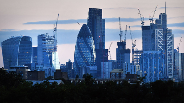 London saw the slowest growth in permanent placementsAndy Rain/EPA/REX/Shutterstock