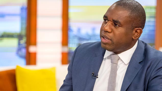 David Lammy MP led the 18-month reviewKen McKay/ITV/REX/Shutterstock