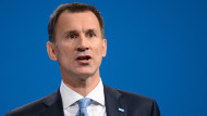 Jeremy Hunt at the 2017 Conservative Party conference in ManchesterMatt Crossick/Empics Entertainment