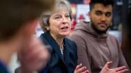 Theresa May at a school in Streatham, south London, ahead of the publication the Government's race disparity auditGeoff Pugh/Daily Telegraph/PA Wire/PA Images