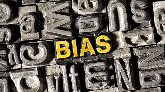 Unconscious bias tends to be entrenched, so could artificial intelligence make it less widespread?imageBROKER/REX/Shutterstock