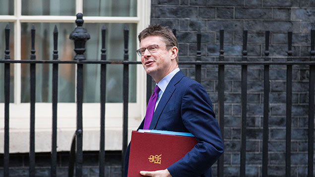 "Business secretary Greg Clark called the strategy an ""unashamedly ambitious vision""Rob Pinney/LNP/REX/Shutterstock"