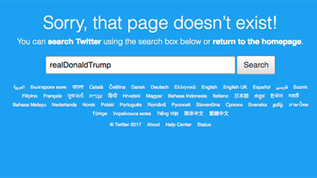 Was a scorned Twitter employee responsible for the disappearance of Donald Trump's account recently?