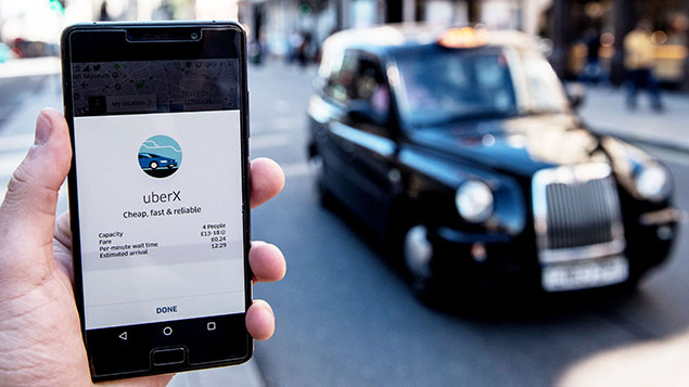 Uber's appeal will be heard by the Court of Appeal during 2018 Photographer James Gourley/REX/Shutterstock