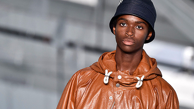 Hugo Boss at New York Fashion Week. In the UK the company changed its gender pay gap submission from a mean of 0% to 33% after an investigation by the FT. Photo: Stephen Lovekin/WWD/REX/Shutterstock