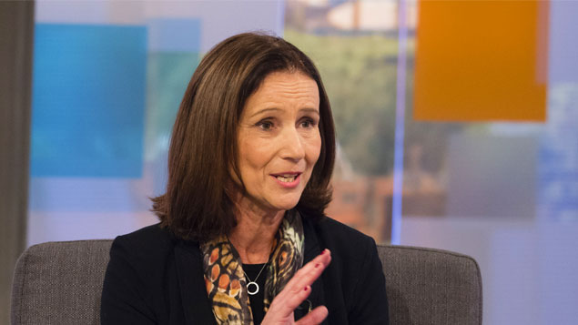 Carolyn Fairbairn said jobs should be given priority in Brexit negotiations   Ken McKay/ITV/REX/Shutterstock