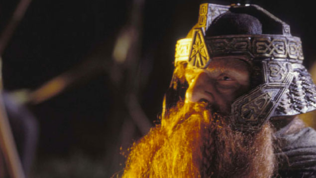 David Evans claimed he was compared to Gimli from The Lord of the Rings. REX/SHUTTERSTOCK