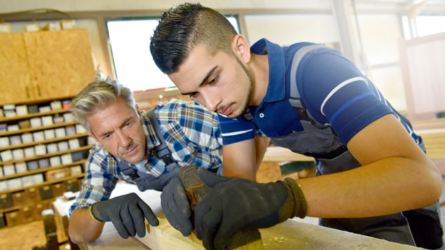 Go for an apprenticeship and get paid to learn a new trade ...