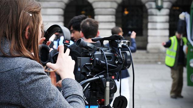 broadcaster camera news