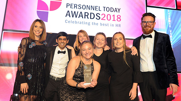 McLaren Personnel Today Awards 2018 Learning and Development