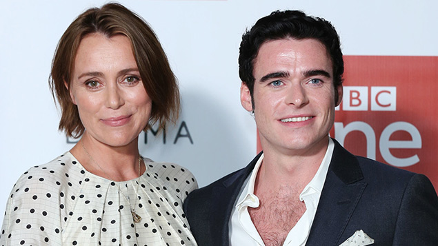 Keeley Hawes and Richard Madden, stars of BBC One's Bodyguard