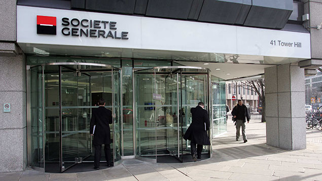 societe generale offices london