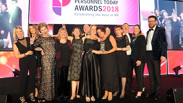 personnel today awards 2018 winners morecambe bay hospitals take