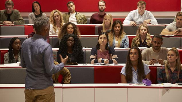 University lecture ethnic minorities