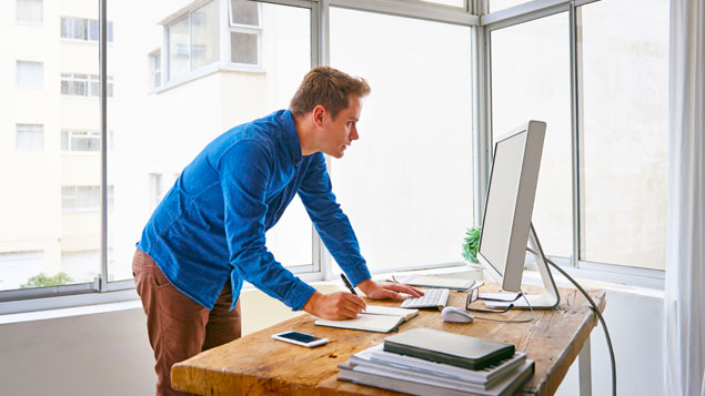 Sit Stand Desks Have Limited Effect On Reducing Obesity Study Finds