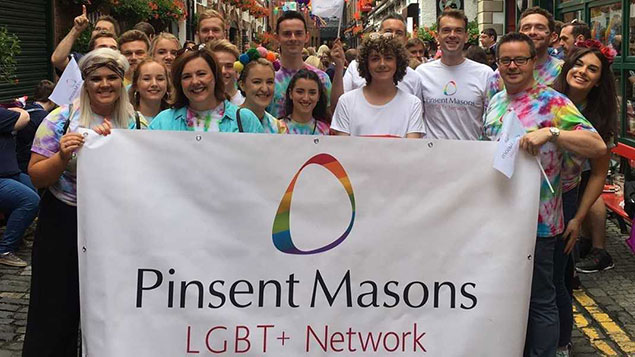 Pinsent Masons staff