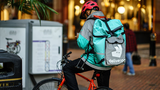Deliveroo and Uber Eats face questions over worker black