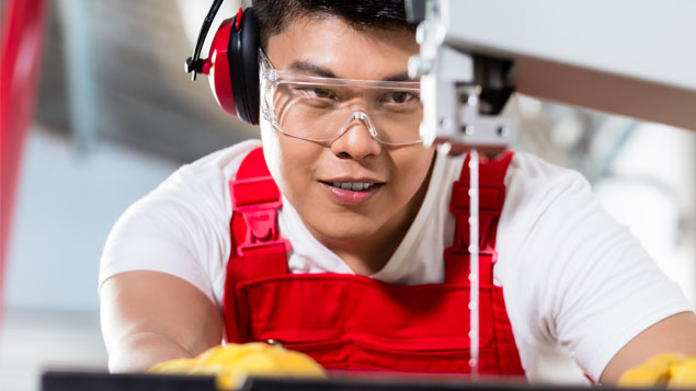 dcf09f775f More than half of staff who wear prescription glasses and need further eye  protection at work are given safety over-goggles rather than prescription  safety ...