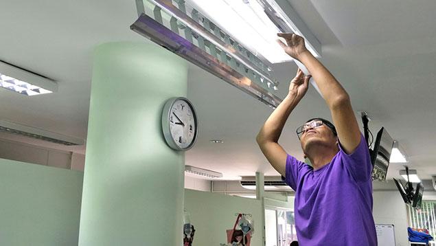 Hospital maintenance