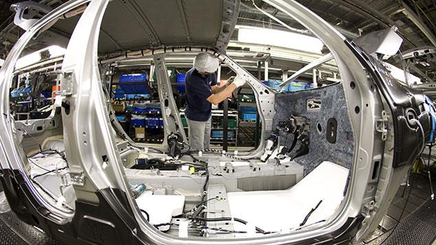 car plant Nissan