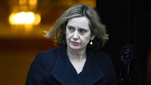 Amber Rudd, work and pensions secretary.